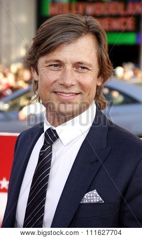 Grant Show at the Los Angeles premiere of 'The Campaign' held at the Grauman's Chinese Theatre in Hollywood, USA on August 2, 2012.