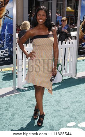 HOLLYWOOD, CALIFORNIA - July 25, 2010. Omarosa at the Los Angeles premiere of