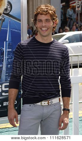 HOLLYWOOD, CALIFORNIA - July 25, 2010. James Marsden at the Los Angeles premiere of