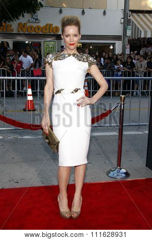 WESTWOOD, CALIFORNIA - August 1, 2011. Leslie Mann at the Los Angeles premiere of