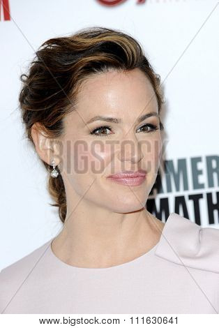 Jennifer Garner at the 29th American Cinematheque Award Honoring Reese Witherspoon held at the Hyatt Regency Century Plaza in Los Angeles, USA on October 30, 2015.