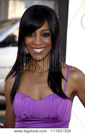 Shaun Robinson at the Los Angeles premiere of 'Larry Crowne' held at the Grauman's Chinese Theater in Hollywood, USA on June 27, 2011.