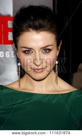 Caterina Scorsone at the Los Angeles Premiere of
