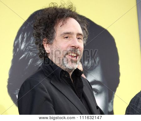 Tim Burton at the Los Angeles premiere of 'Dark Shadows' held at the Grauman's Chinese Theater in Hollywood, USA on May 7, 2012.