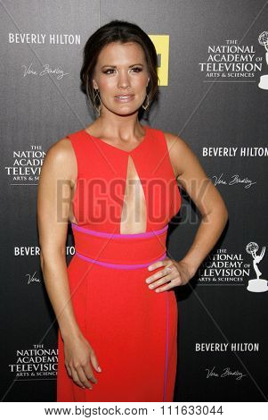 Melissa Claire Egan at the 39th Annual Daytime Emmy Awards held at the Beverly Hilton Hotel in Beverly Hills, USA on June 23, 2012.