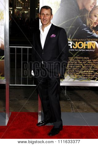 HOLLYWOOD, CALIFORNIA - February 1, 2010. Adam Shankman at the World premiere of