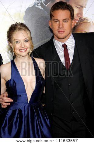 Channing Tatum and Amanda Seyfried at the World Premiere of