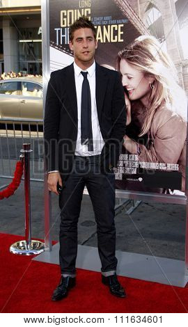 HOLLYWOOD, CALIFORNIA - August 23, 2010. Oliver Jackson-Cohen at the Los Angeles premiere of