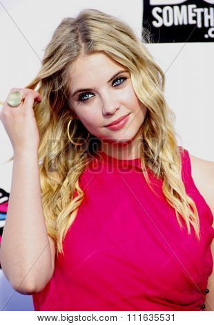 Ashley Benson at the 2011 VH1 Do Something Awards held at the Palladium Hollywood in Los Angeles, California, United States on August 14, 2011.