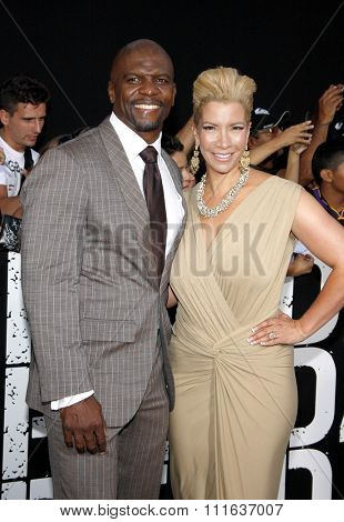 Terry Crews at the Los Angeles premiere of