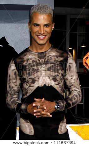 Jay Manuel at the Los Angeles Premiere of