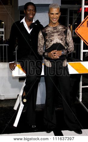 J. Alexander and Jay Manuel at the Los Angeles Premiere of