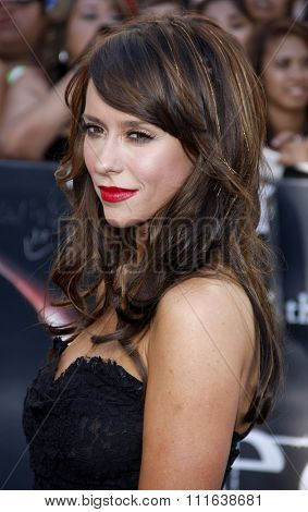 HOLLYWOOD, CALIFORNIA - June 24, 2010. Jennifer Love Hewitt at