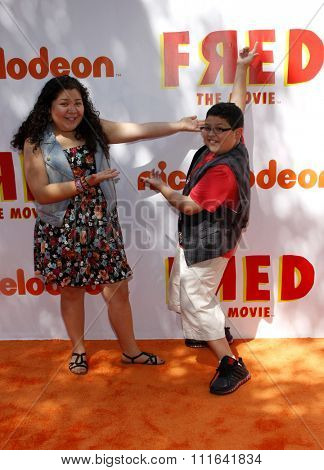 Rico Rodriguez and Raini Rodriguez at the Los Angeles Premiere of
