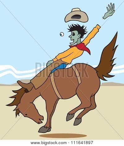 Zombie Bronc Rider