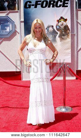 HOLLYWOOD, CALIFORNIA - July 19, 2009. Gena Lee Nolin at the Disney World Premiere of