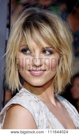 WESTWOOD, CALIFORNIA - August 6, 2011. Dianna Agron at the Los Angeles premiere of