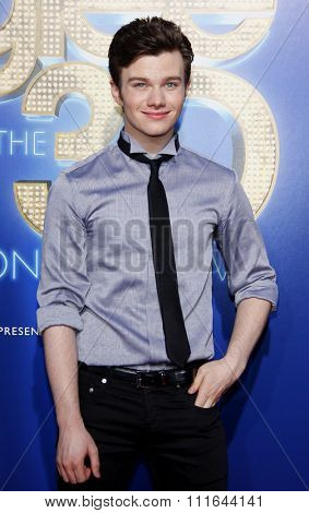 Chris Colfer at the Los Angeles Premiere of