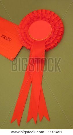 Award. Rosette. Prize