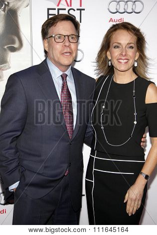 Bob Costas and Jill Sutton at the AFI FEST 2015 Centerpiece Gala Premiere Of Columbia Pictures'