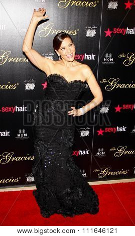 Constance Marie at the 37th Annual Gracie Awards Gala held at the Beverly Hilton Hotel in Los Angeles, California, United States on May 22, 2012.