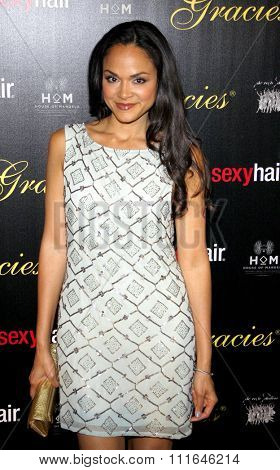 Karen Olivo at the 37th Annual Gracie Awards Gala held at the Beverly Hilton Hotel in Los Angeles, California, United States on May 22, 2012.