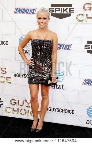 LOS ANGELES, CALIFORNIA - June 2, 2012. Kendra Wilkinson at the Spike TV's 6th Annual