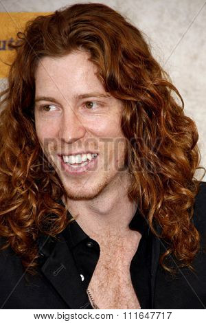 Shaun White at the 2010 Guys Choice Awards held at the Sony Pictures Studios in Culver City, California, United States on June 5, 2010.