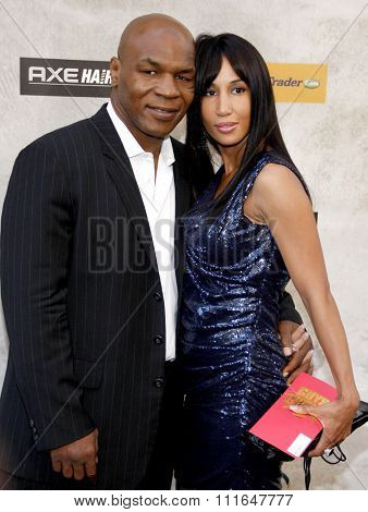 Mike Tyson at the 2010 Guys Choice Awards held at the Sony Pictures Studios in Culver City, California, United States on June 5, 2010.