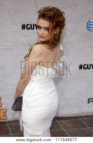 Holland Roden at the Spike TV's 5th Annual 2011