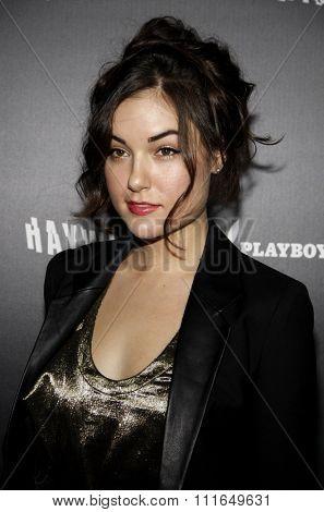 Sasha Grey at the Los Angeles Premiere of