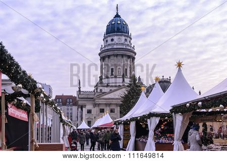 Christmas in the Gendarmenmarkt