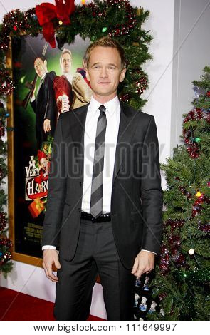 HOLLYWOOD, CALIFORNIA - November 2, 2011. Neil Patrick Harris at the Los Angeles premiere of