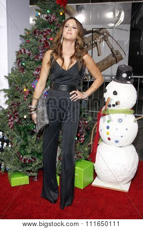 HOLLYWOOD, CALIFORNIA - November 2, 2011. Danneel Harris at the Los Angeles premiere of