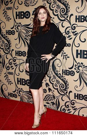 WEST HOLLYWOOD, CALIFORNIA - September 20, 2009. Jodi Lyn O'Keefe at the HBO POST EMMY Party held at the Pacific Design Center, West Hollywood, Los Angeles.