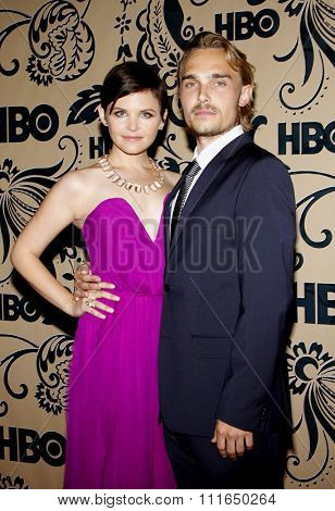 20/09/2009 - West Hollywood - Ginnifer Goodwin and Joey Kern at the HBO POST EMMY Party held at the Pacific Design Center in Hollywood, California, United States.