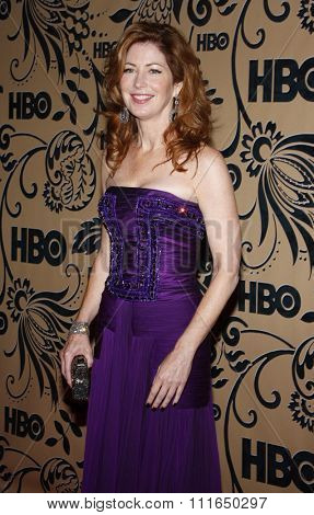 WEST HOLLYWOOD, CALIFORNIA - September 20, 2009. Dana Delany at the HBO POST EMMY Party held at the Pacific Design Center, West Hollywood, Los Angeles.