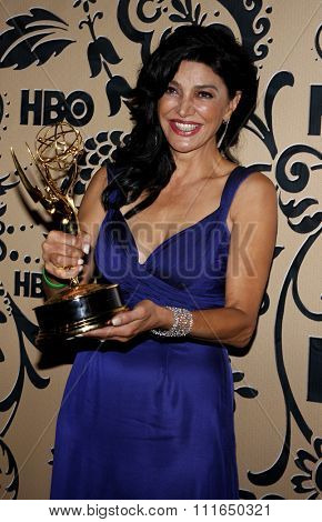 WEST HOLLYWOOD, CALIFORNIA - September 20, 2009. Shohreh Aghdashloo at the HBO POST EMMY Party held at the Pacific Design Center, West Hollywood, Los Angeles.