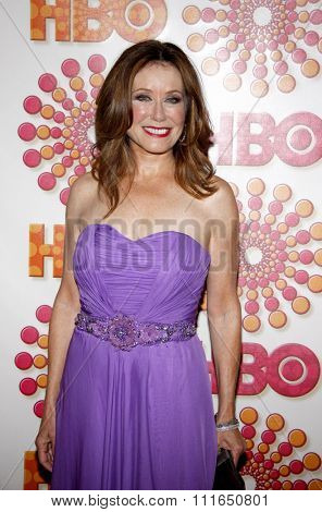 WEST HOLLYWOOD, CALIFORNIA - September 18, 2011. Mary McDonnell at the HBO's 2011 Emmy After Party held at the Pacific Design Center, Los Angeles.