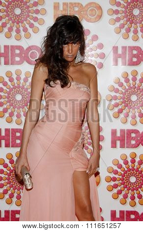 Paz de la Huerta at the HBO's 2011 Emmy After Party held at the Pacific Design Center in West Hollywood, California, United States on September 18, 2011.