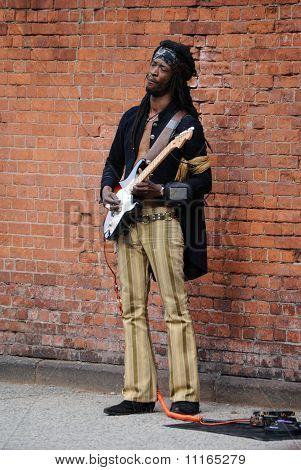 Jimi Hendrix-Imitator