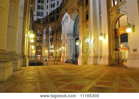 Municipal Building Plaza