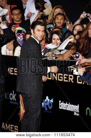Wes Bentley at the Los Angeles Premiere of
