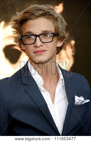 Cody Simpson at the Los Angeles Premiere of