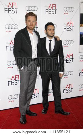 Ewan McGregor and J.A. Bayona at the 2012 AFI Fest screening of