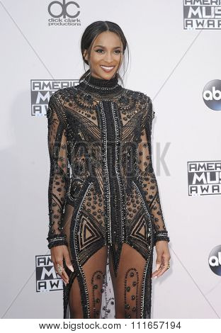 Ciara at the 2015 American Music Awards held at the Microsoft Theater in Los Angeles, USA on November 22, 2015.