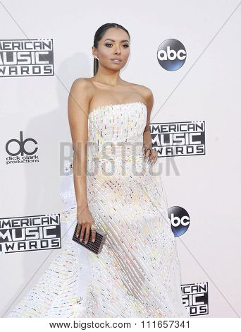 Kat Graham at the 2015 American Music Awards held at the Microsoft Theater in Los Angeles, USA on November 22, 2015.