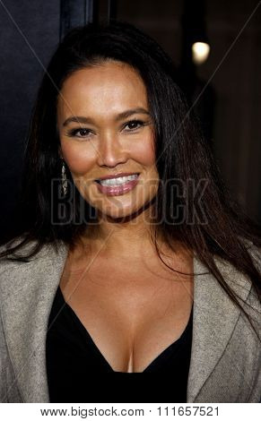 HOLLYWOOD, CALIFORNIA - December 6, 2010. Tia Carrere at the Los Angeles premiere of