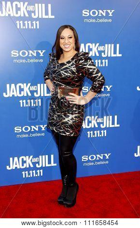 Melanie Amaro at the World Premiere of