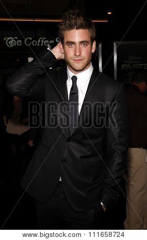 HOLLYWOOD, CALIFORNIA - November 22, 2010. Oliver Jackson-Cohen at the Los Angeles premiere of